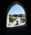 Portal in ancient Visby city wall