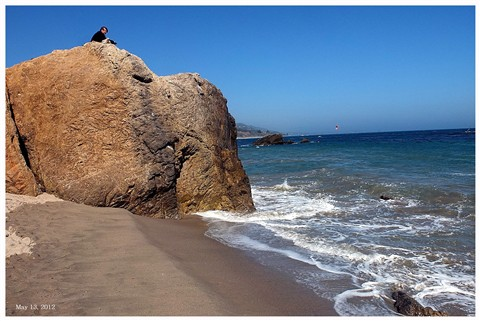 Watching the Tide, Malibu, California
