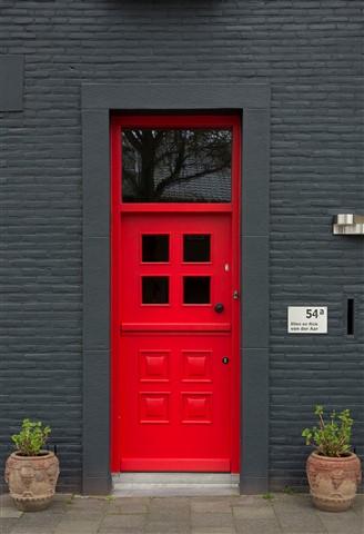 Housedoor in Maastricht Holland
