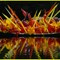 Chihuly floating boat