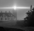West Quoddy Lighthouse. Lubec, Maine.