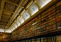 Chantilly castle library