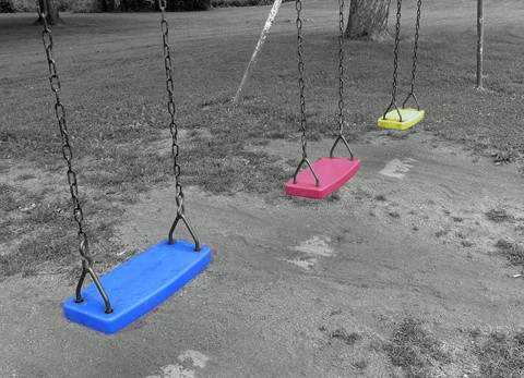 Colored Swings