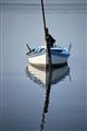 Una barca in laguna