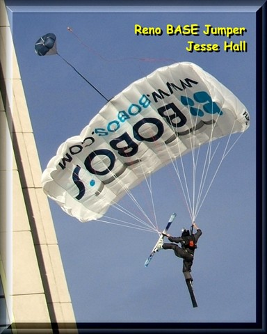 BASE Jumping off Silver Legacy Casino