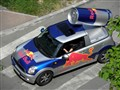 Mini Cooper and red bull