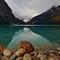 Lake Louise boulder