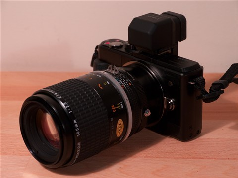 GX! Nikon 105mm f2.8 AI-S Macro