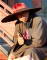 Friendly Chinese Monk