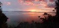 Sunrise over the Derwent panorama