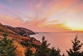 cabot trail autumn sunset