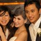 sample wedding photo mid-tele w/diffuse flash