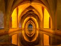 Bathing Room, Real Alcazar, Seville, Spain