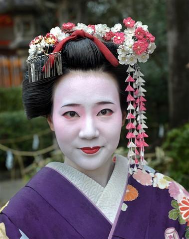 Geisha, Yasaska.