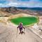 2015-12-15 New Zealand Te Araroa 21125 Tongariro Crossing Crater Lake Joanne