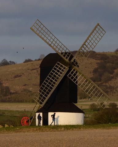 Hoodies at Pitstone Windmill