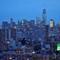Lower Manhattan in Blue
