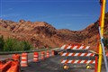 Road Work on Scenic Byway 128, Utah