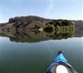 kayaking on Lake Chabot