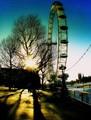 London Eye on the South Bank