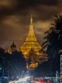 Eastside of Shwe Dagon @ Yangon Myanmar