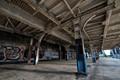 Abandoned Train Station Platform