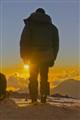 Sunset at Aconcagua