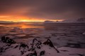 McMurdo Sound Sunset