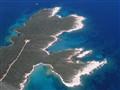 Aerial view on Punta Križa, island of Cres, Croatia