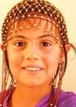 The beautiful girl from Uzbekistan.