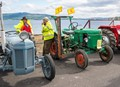 Deutz tractor at the annual tractor rally on the Isle of Bute on the West Coast of Scotland