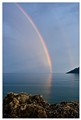 Double rainbow at Skoutari, Mani, Greece