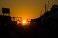 Sunset on the Street Fair
