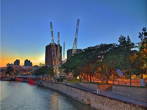 Sunset @ Clarke Quay, Singapore