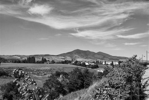 Landscape on Mont Vulture