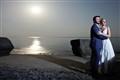 Full moon wedding Portrait
