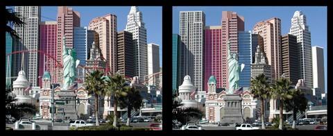 Las Vegas - New York New York - Cityscape