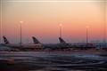 Jets at sunrise