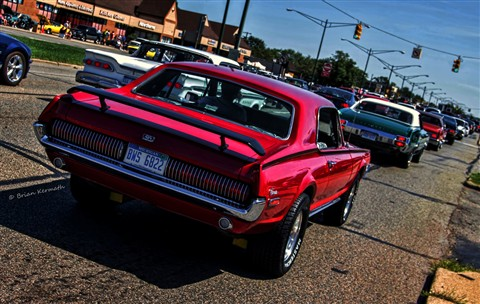 "1968 Mercury Cougar at Metro Detroit's ""Woodward Avenue Dream Cruise"""