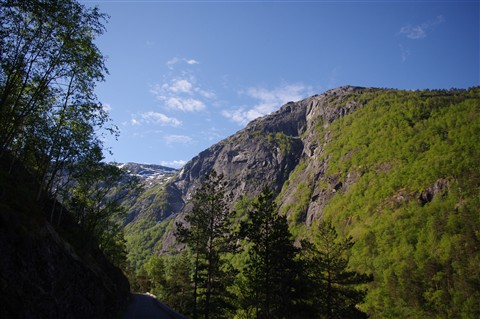 Near Kinsarvik, Norway