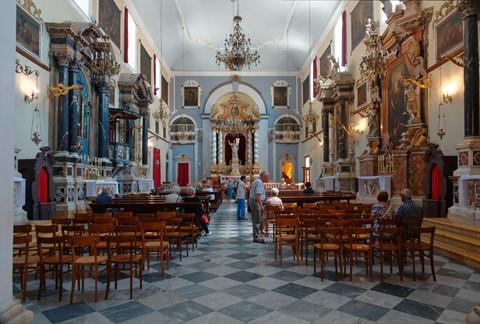 Franciscan Monastery church DSC07472 Dubrovnik