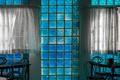 Window in blue