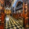Through the Choir Stalls: St Nicholas Cathedral in Newcastle-upon-Tyne, UK.