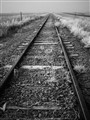 South Dakota railroad tracks
