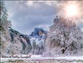 Yosemite Valley Winter Snow