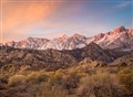 sunrise eastern sierra