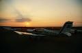 sunset at Somosierra