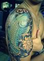 Tattooed biceps