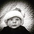 My Grandson with his Christmas hat