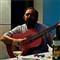 Side-lit Juan Silva - The Guitarist